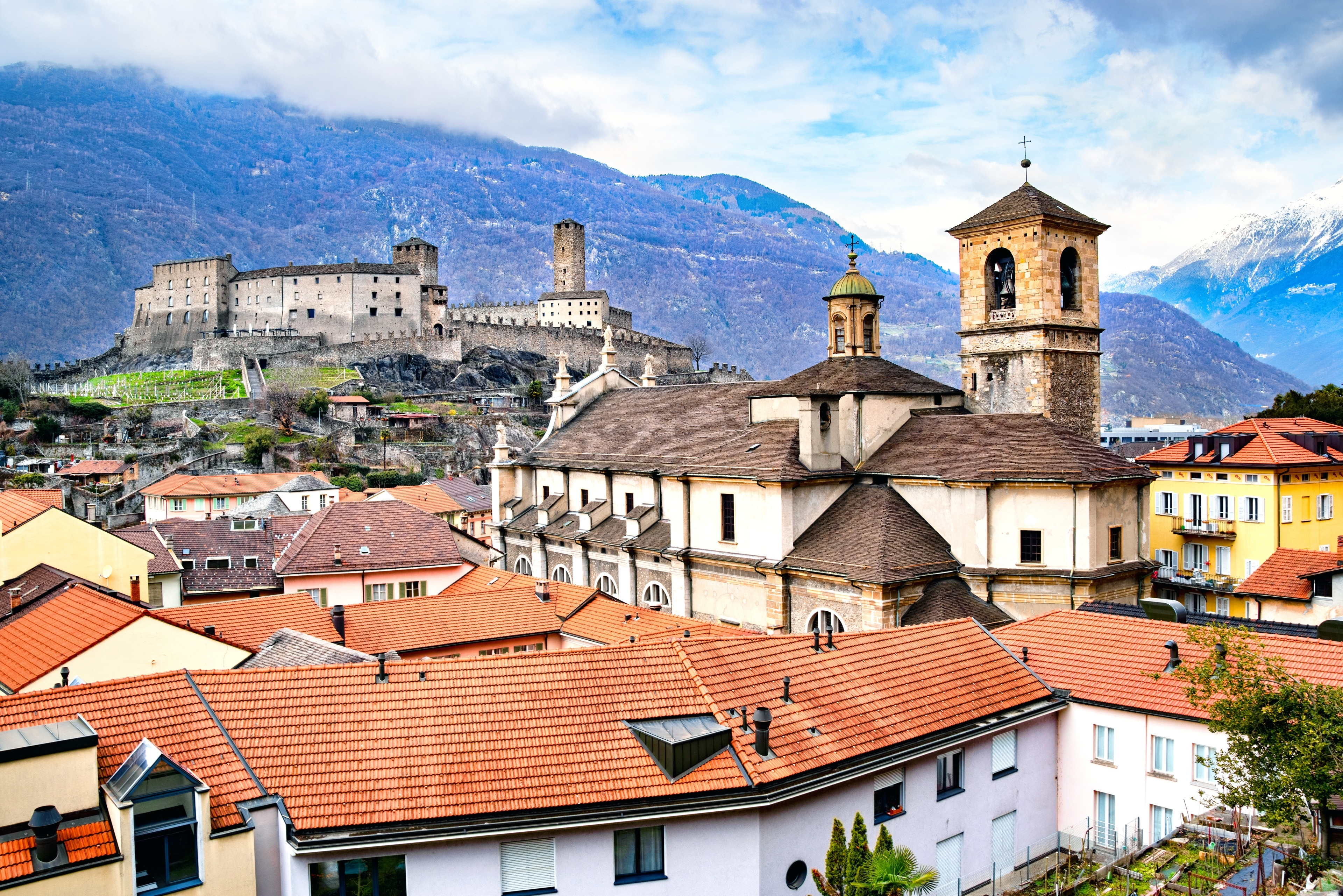 Bellinzona, Canton of Ticino, Switzerland