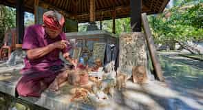 Centro de la ciudad de Ubud