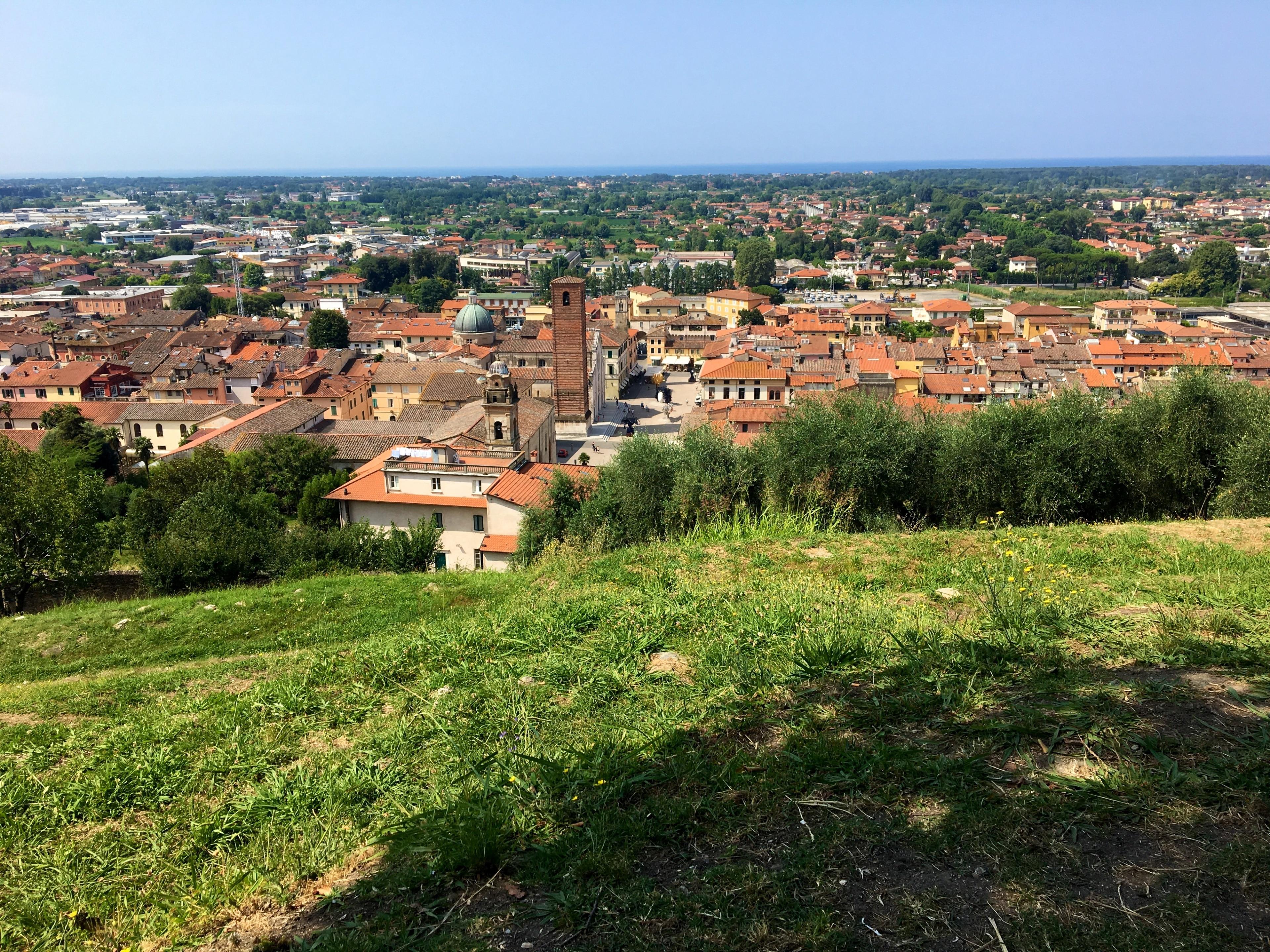 Pietrasanta, Toskana, Italien