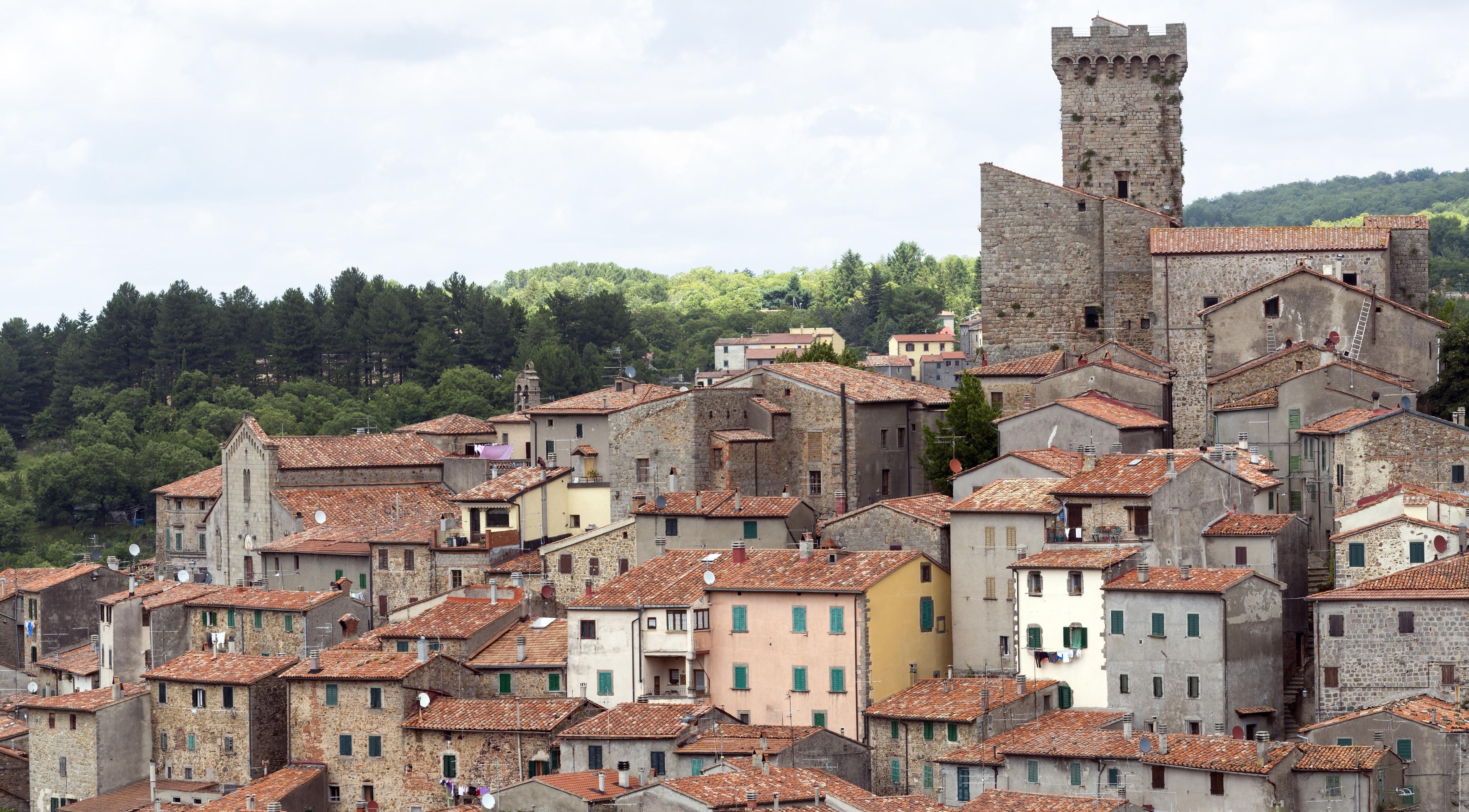 Arcidosso, Toscana, Italia