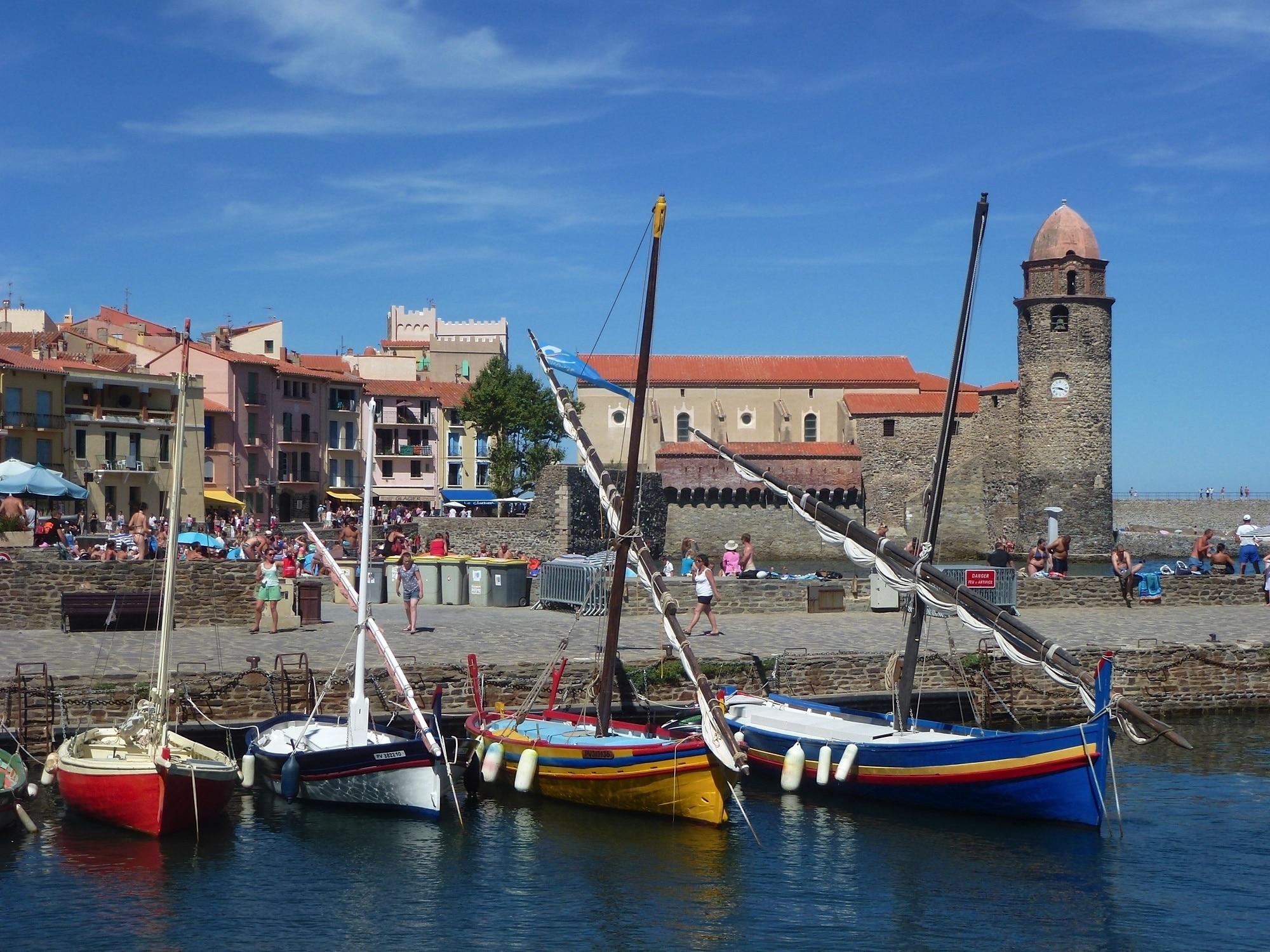 Collioure, Pyrenees-Orientales, France