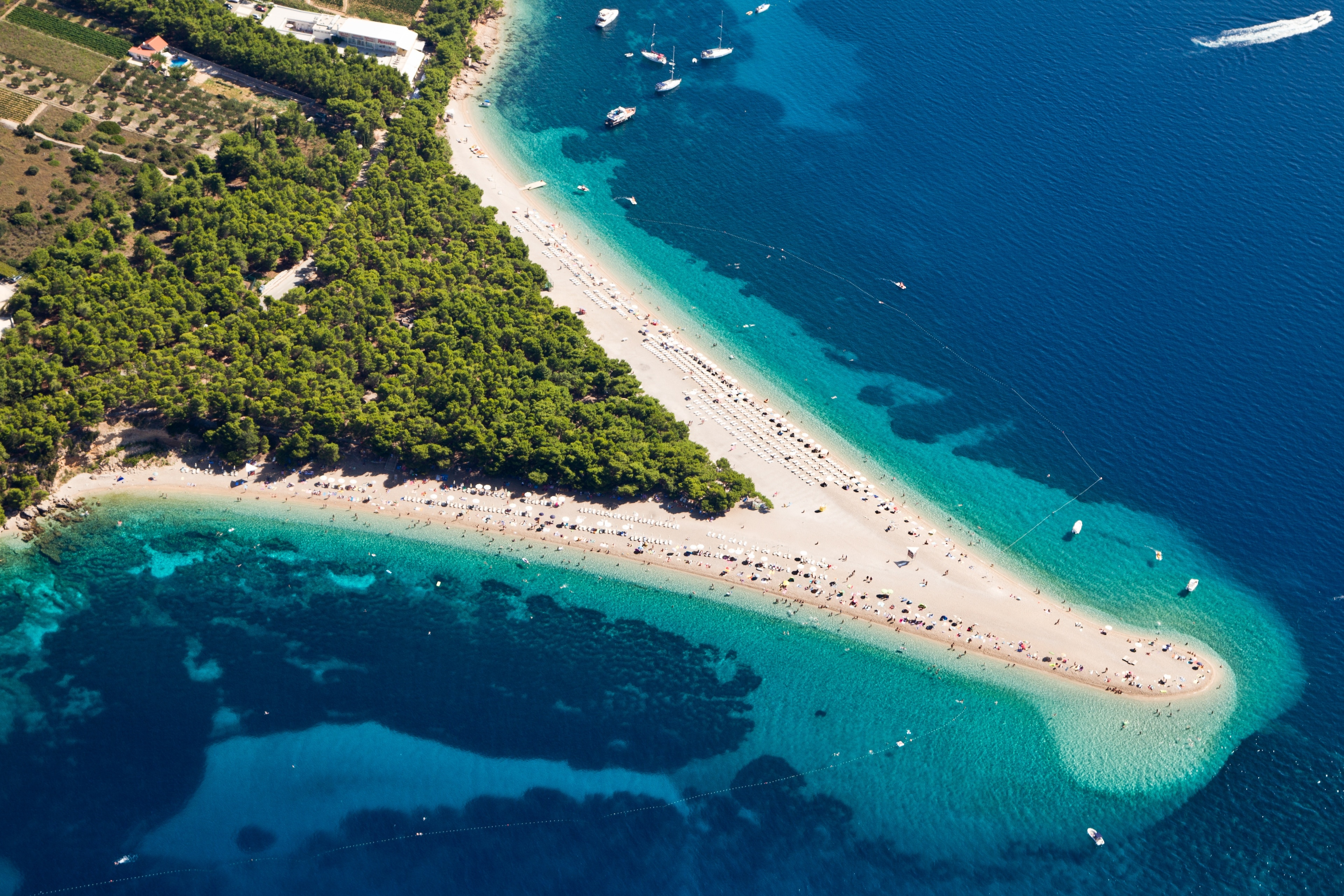 Bol, Split-Dalmatië, Kroatië