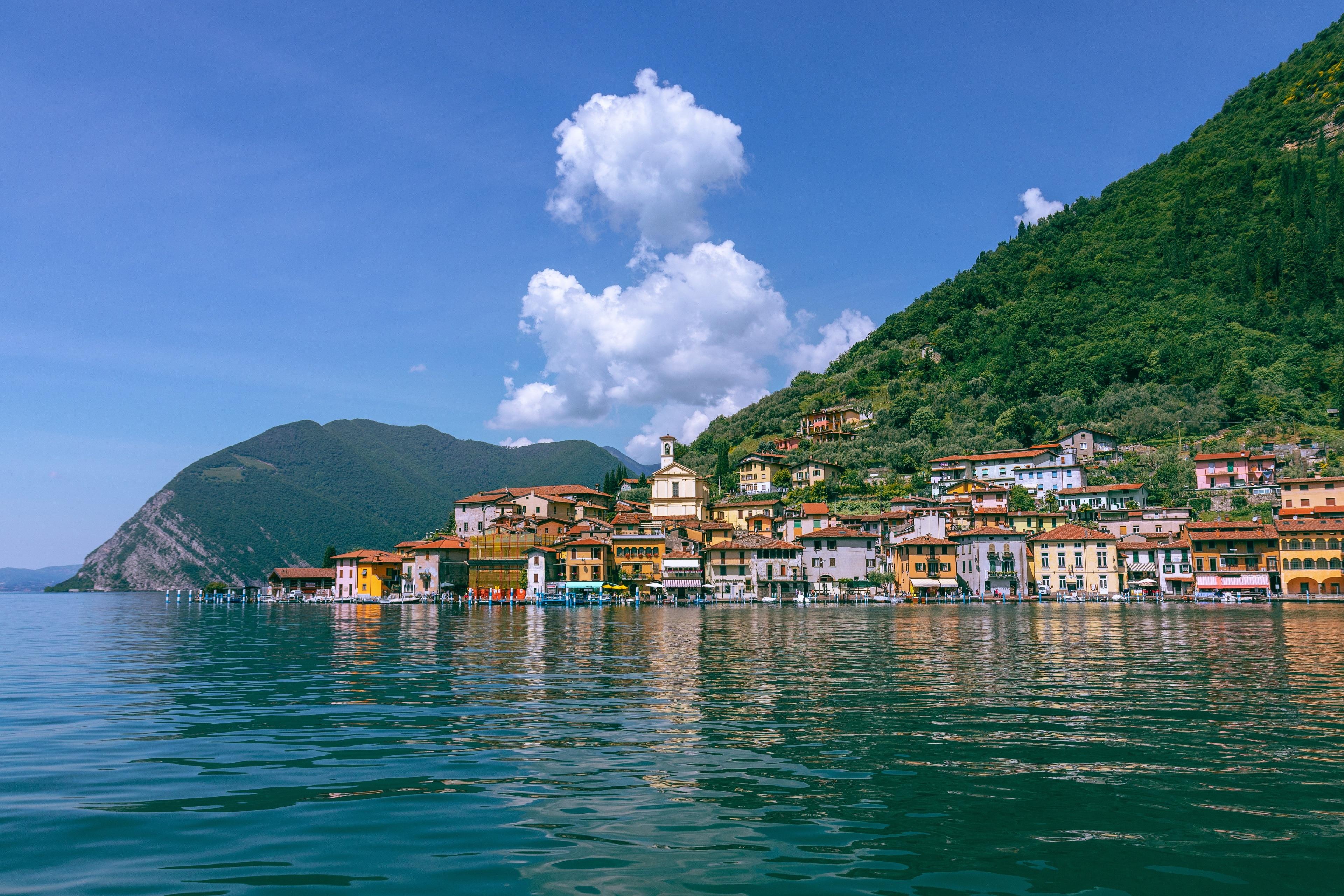 Sulzano, Lombardije, Italië