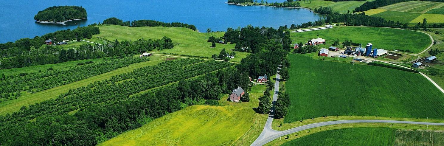 Burlington (und Umgebung), Vermont, USA