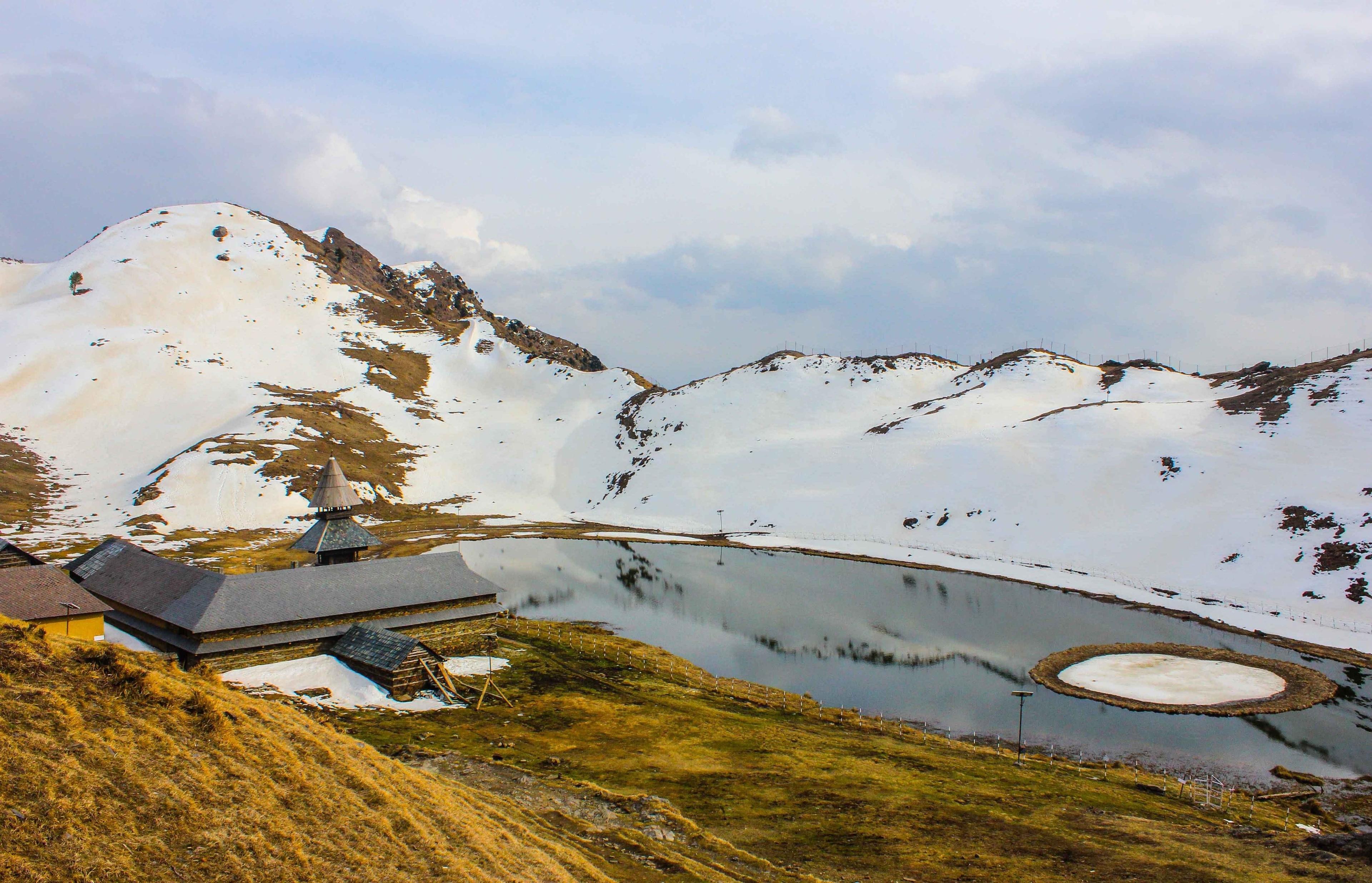 Prashar Lake, Kullu, Himachal Pradesh, India