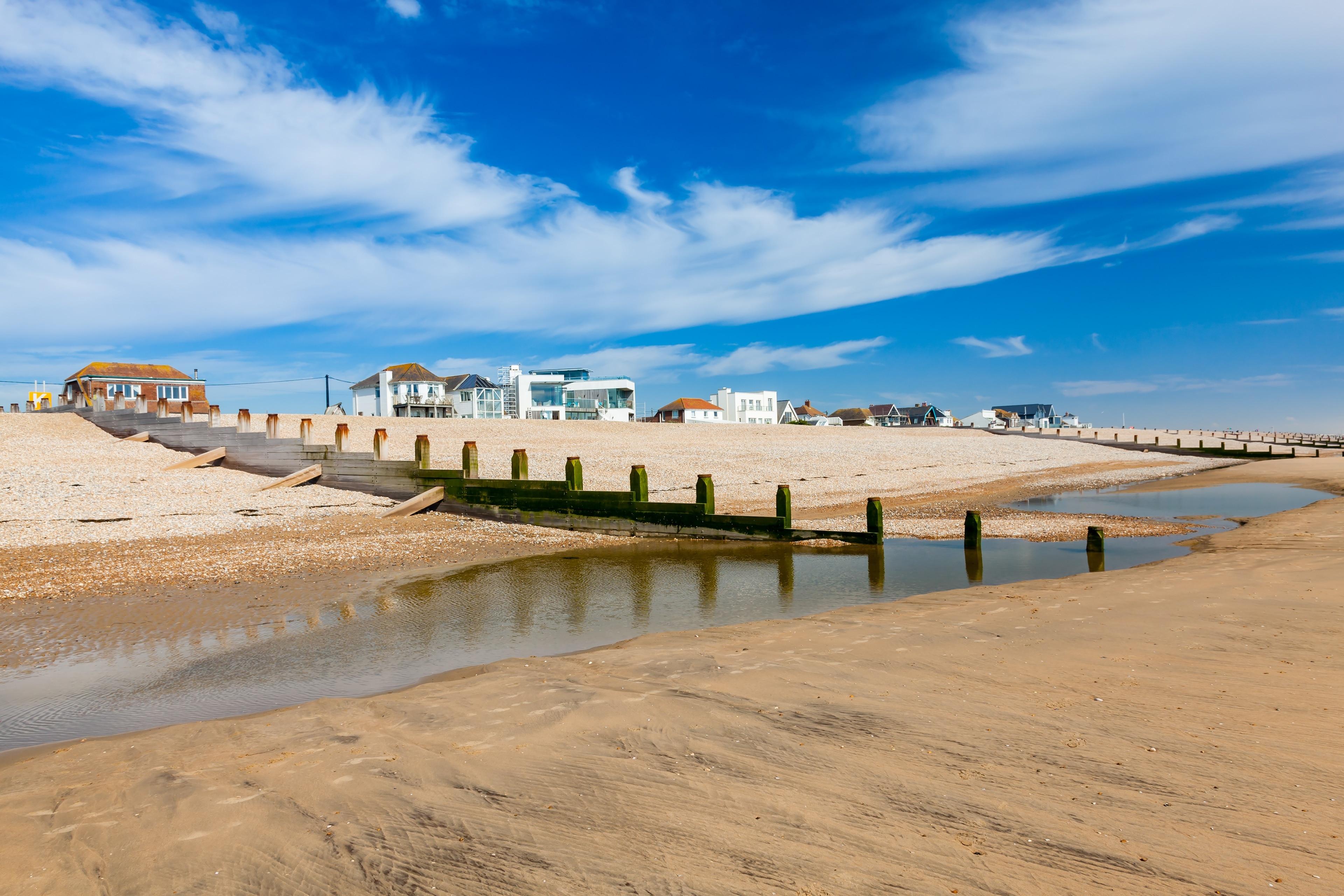Camber Sands, Rye, England, United Kingdom