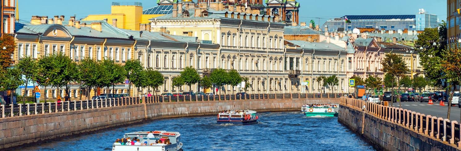 サンクトペテルブルク, ロシア