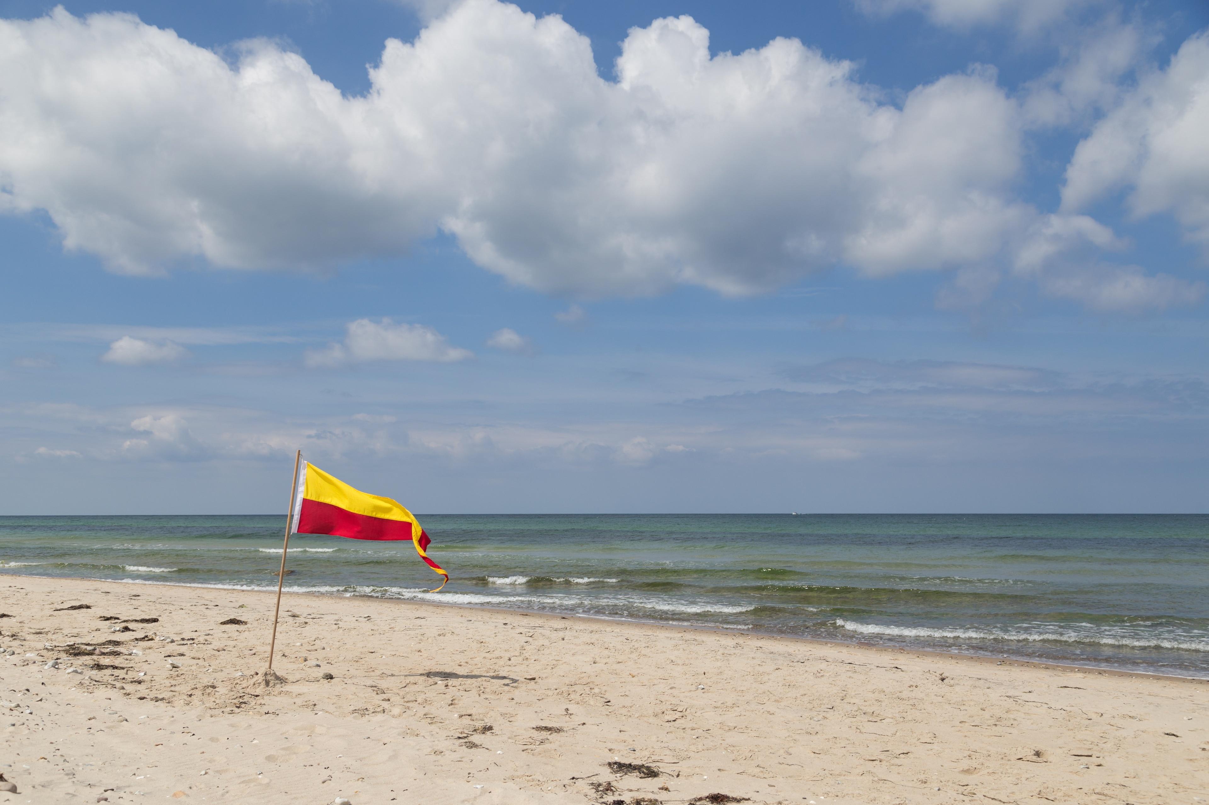 Tisvildeleje Beach, Tisvildeleje, Hovedstaden, Denmark