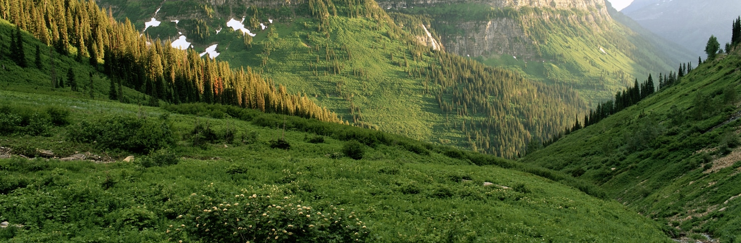 Gletser Barat, Montana, Amerika Serikat