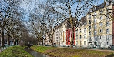 Bilk, Düsseldorf, North Rhine-Westphalia, Germany