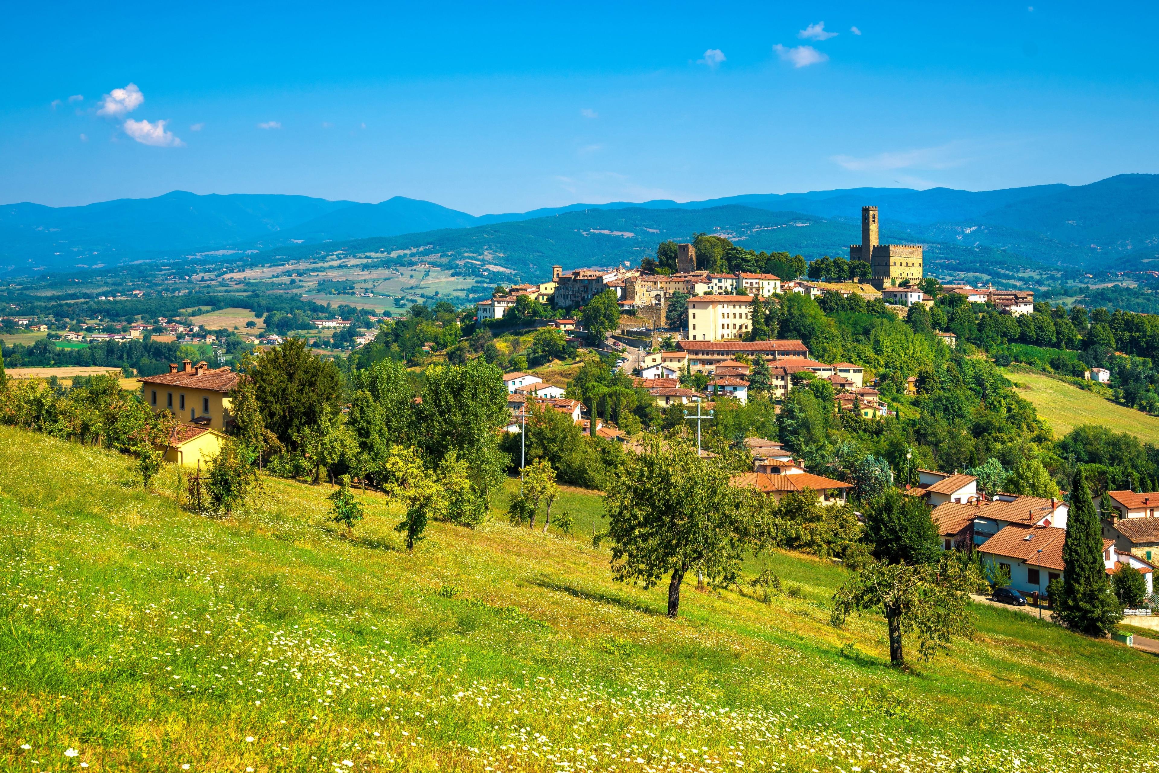 Poppi, Tuscany, Italy