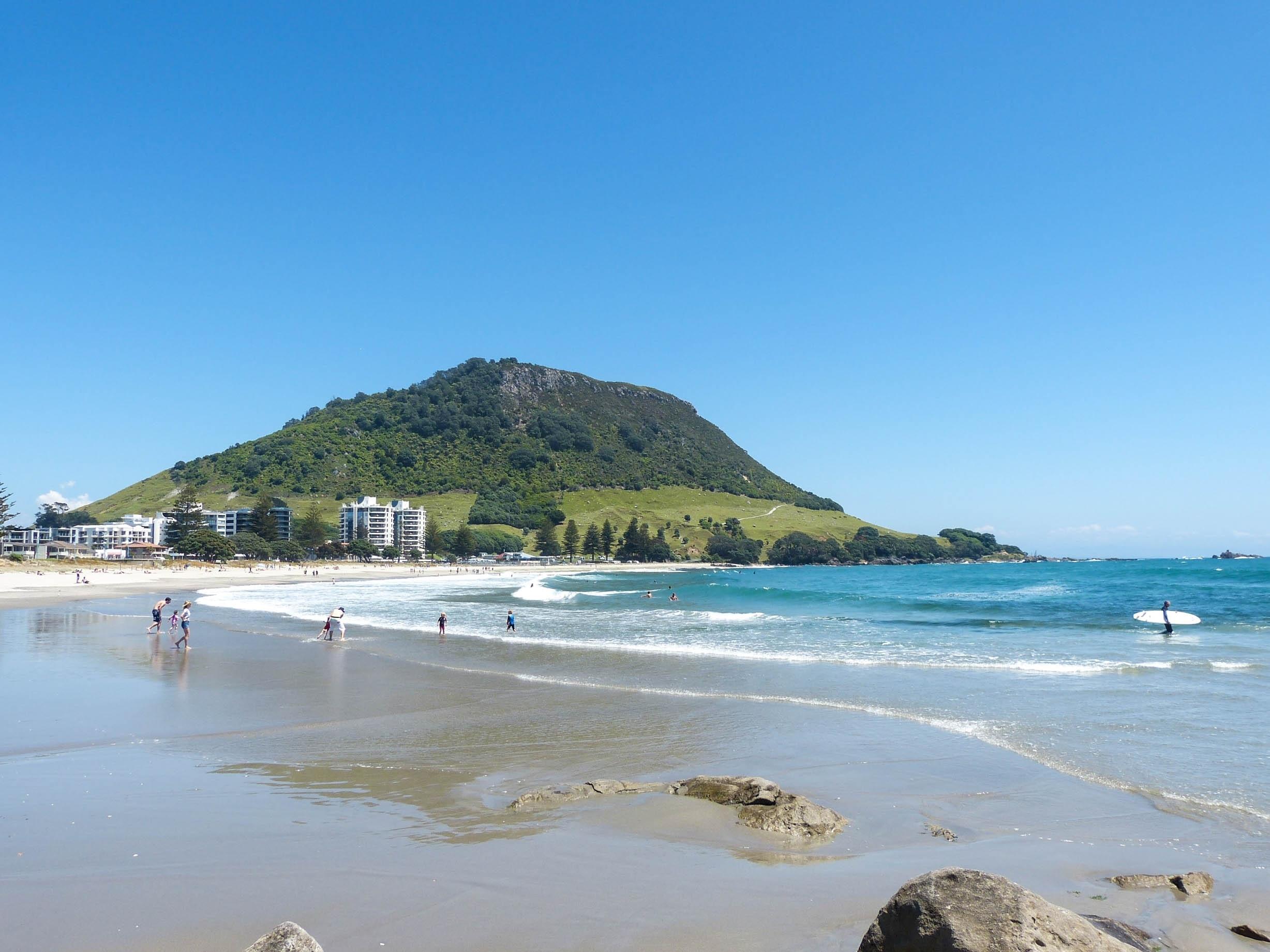 Papamoa Beach, Tauranga, Bay of Plenty Region, New Zealand