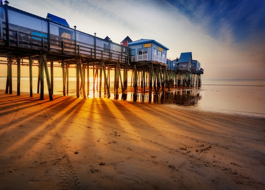 Old Orchard Beach, Mena, Amerikas Savienotās Valstis
