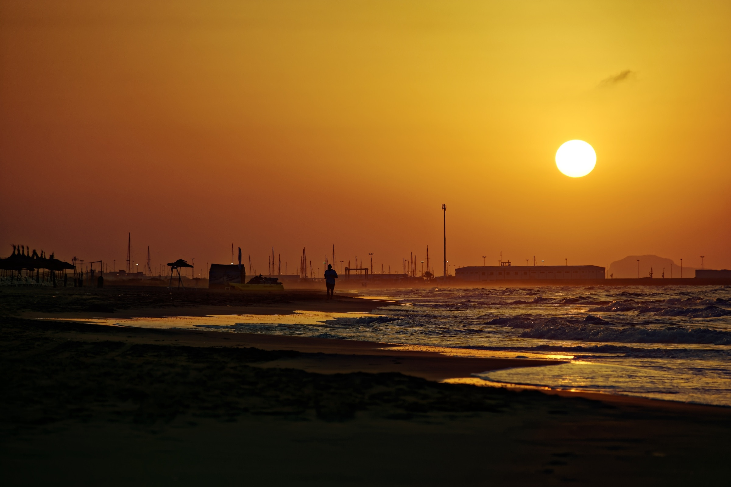 Saidia Beach, Saidia, Oriental, Morocco