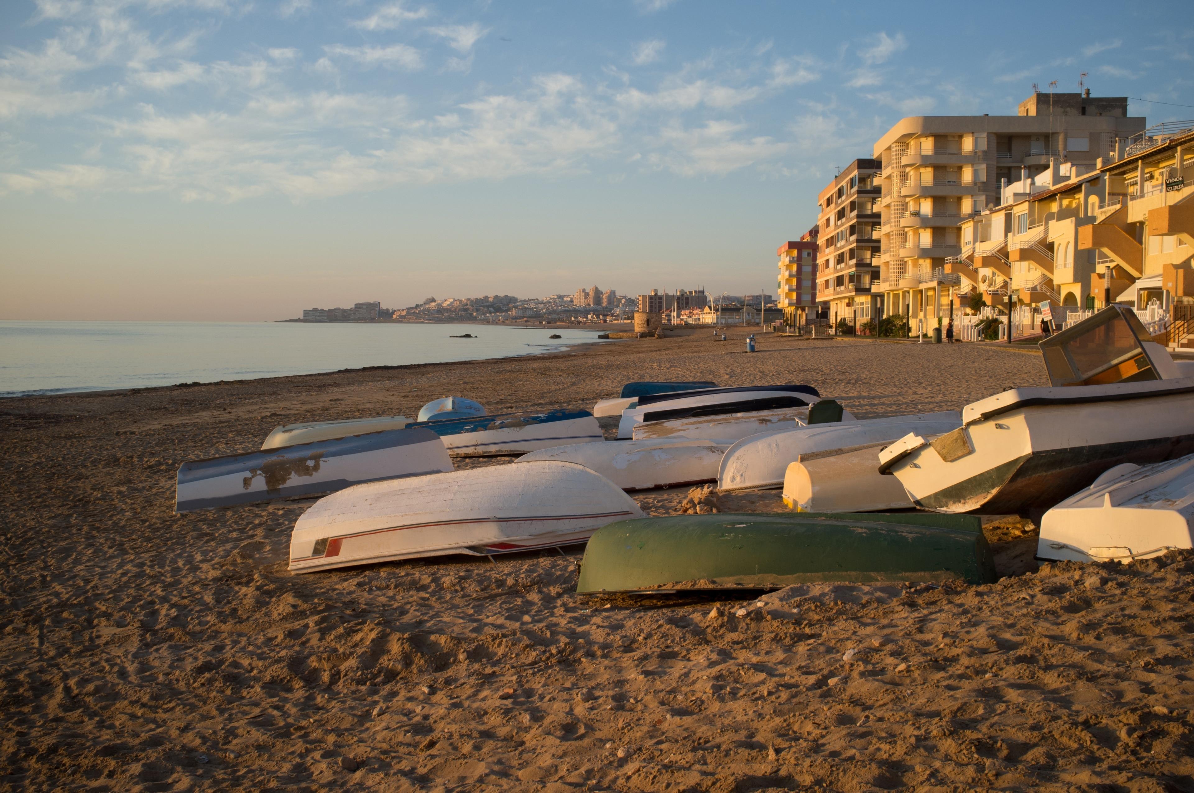 Acequion Beach, Torrevieja, Valencian Community, Spain