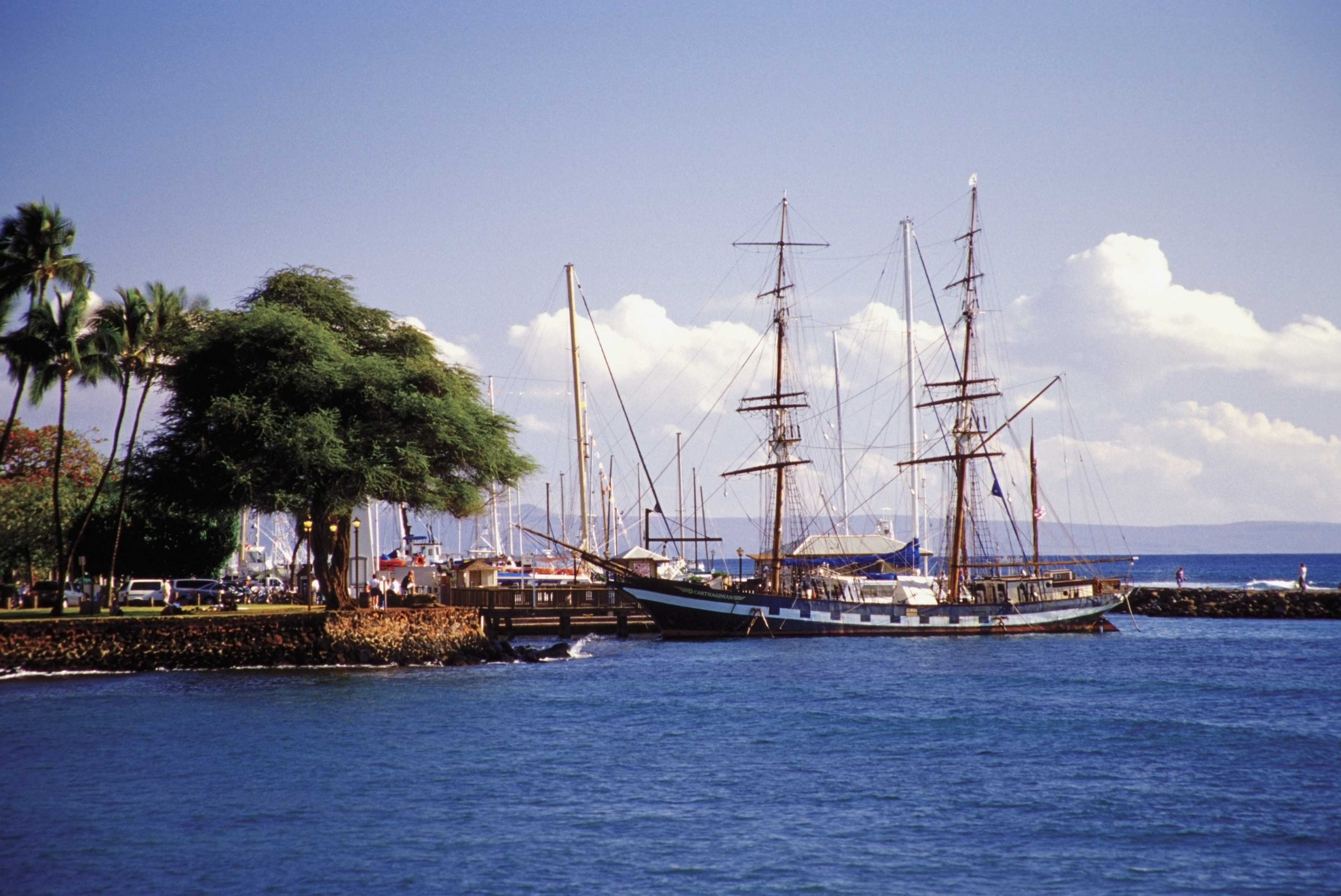 Lahaina Harbor, Lahaina, Hawaii, United States of America
