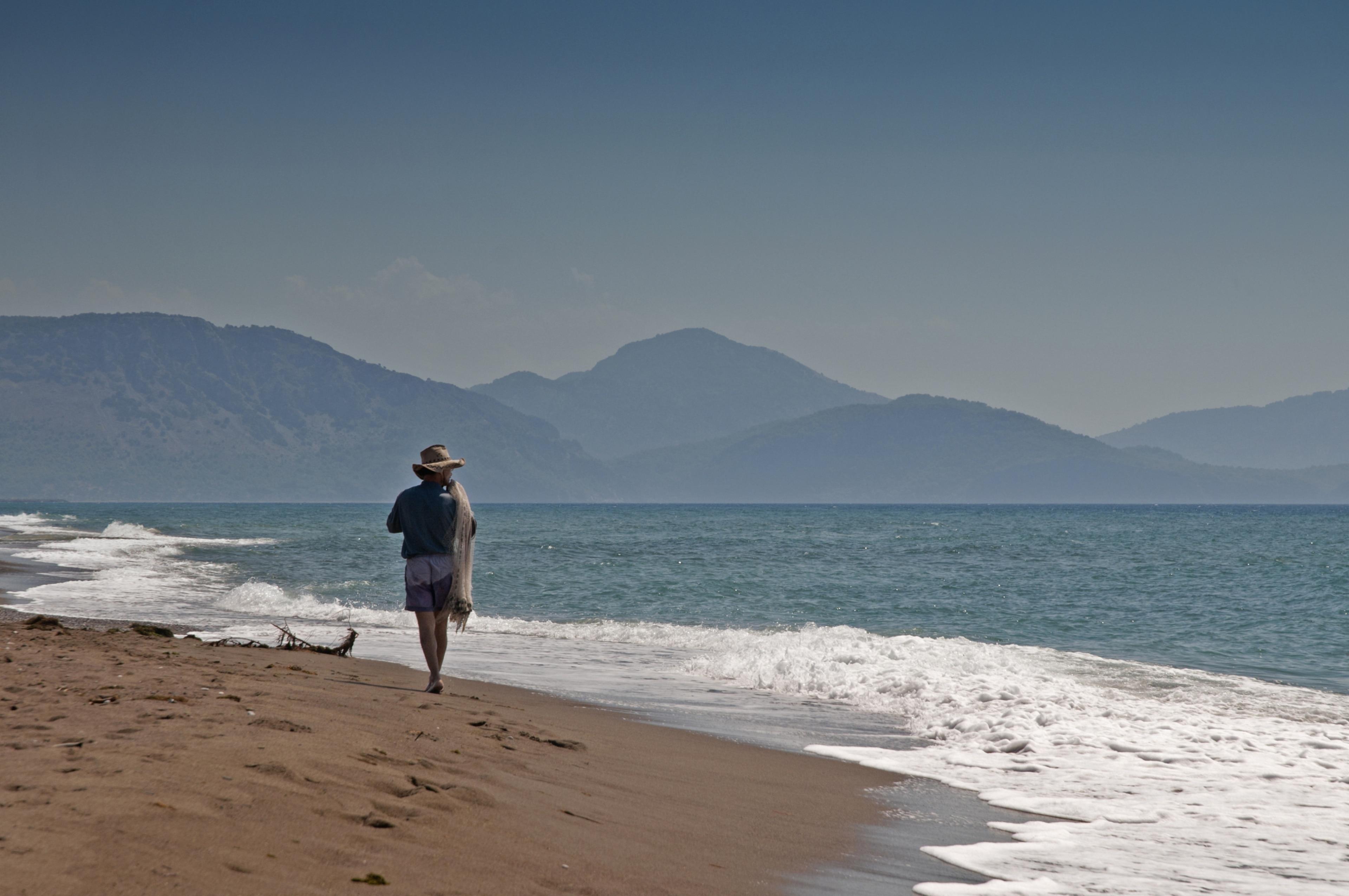 Sarıgerme Plajı, Ortaca, Muğla, Turkije