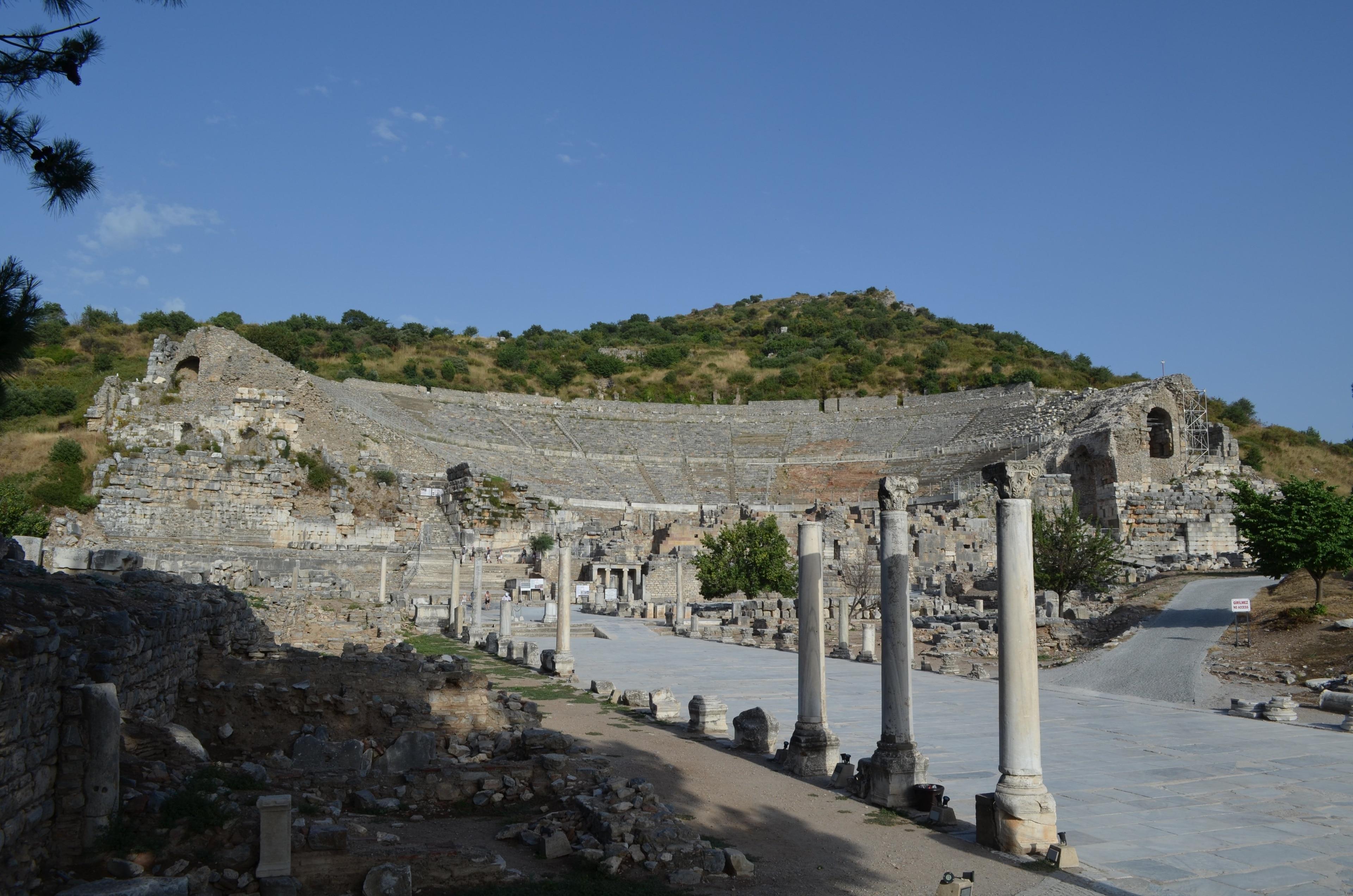 Odeon, Selcuk, İzmir, Turkije