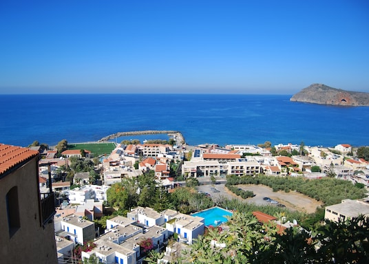 Platanias Town, Greece