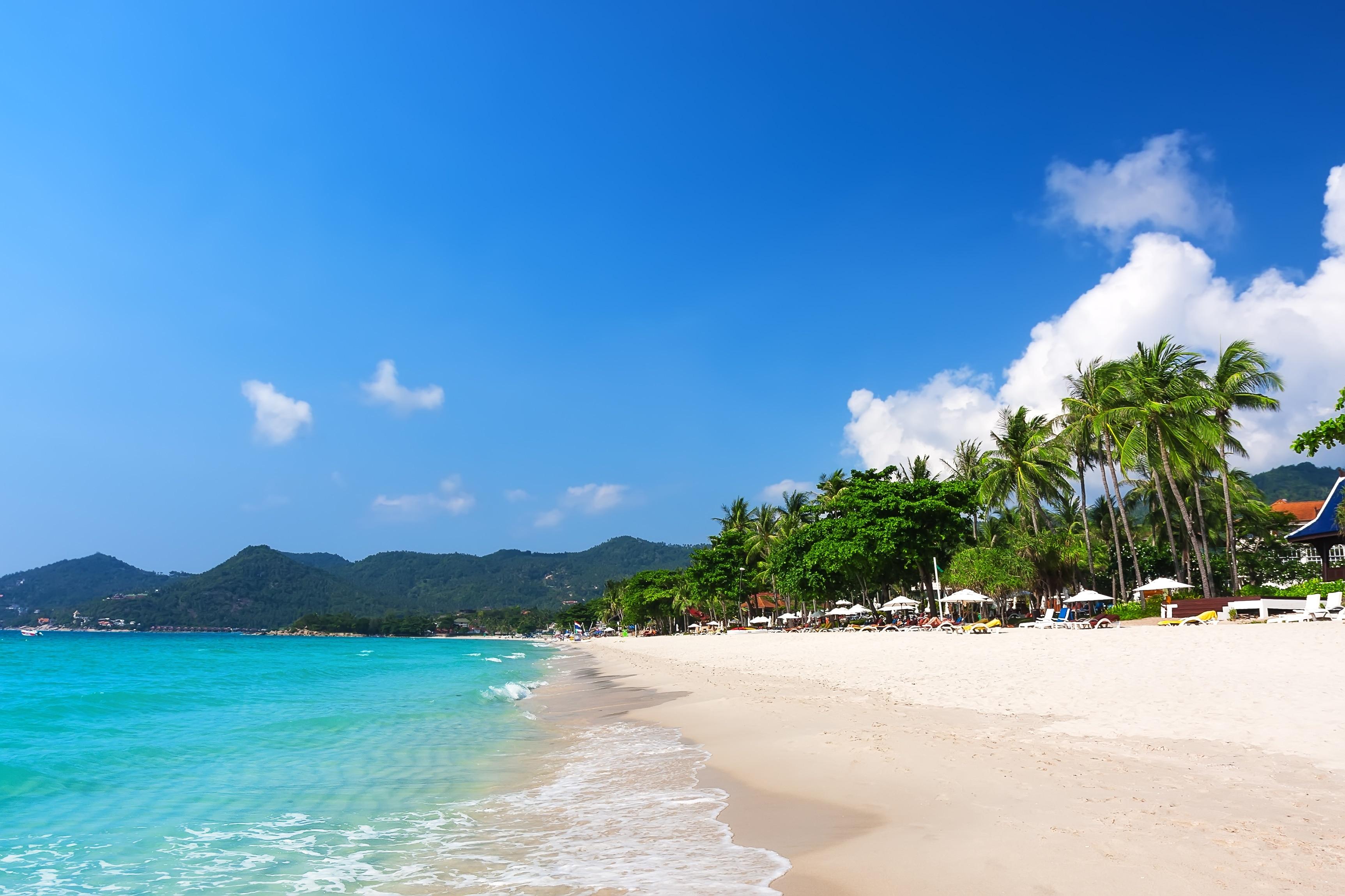 Strand von Chaweng, Ko Samui, Surat Thani (Provinz), Thailand