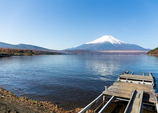 山中湖, 日本