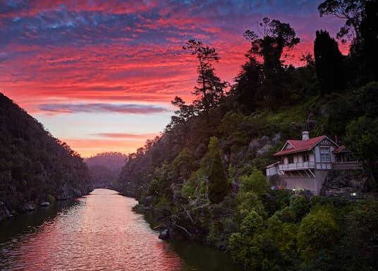 Launceston i okolice, Tasmania, Australia