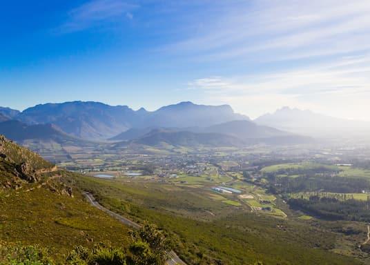 Cape Winelands, Afrika Selatan