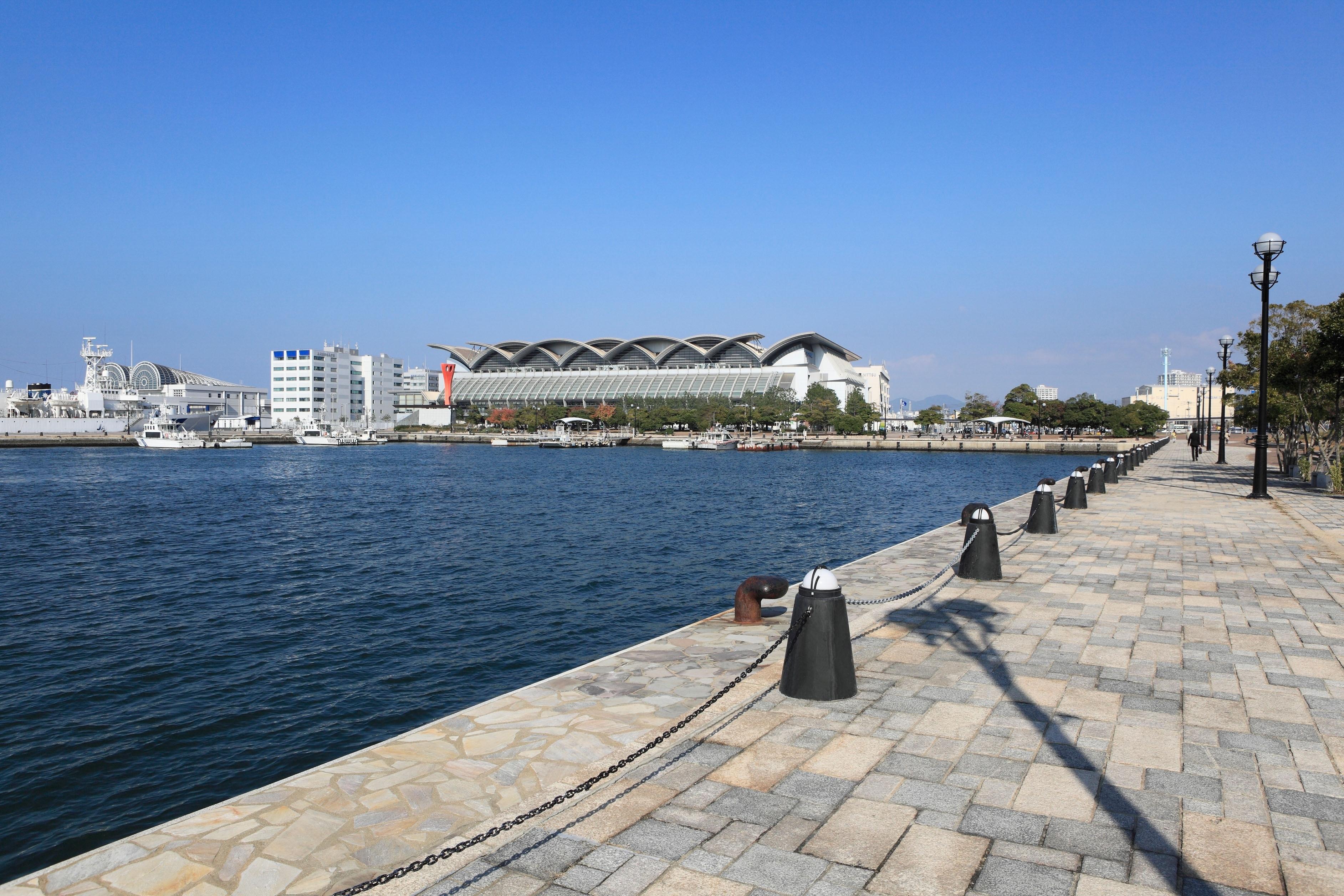Marine Messe Fukuoka, Fukuoka, Präfektur Fukuoka, Japan