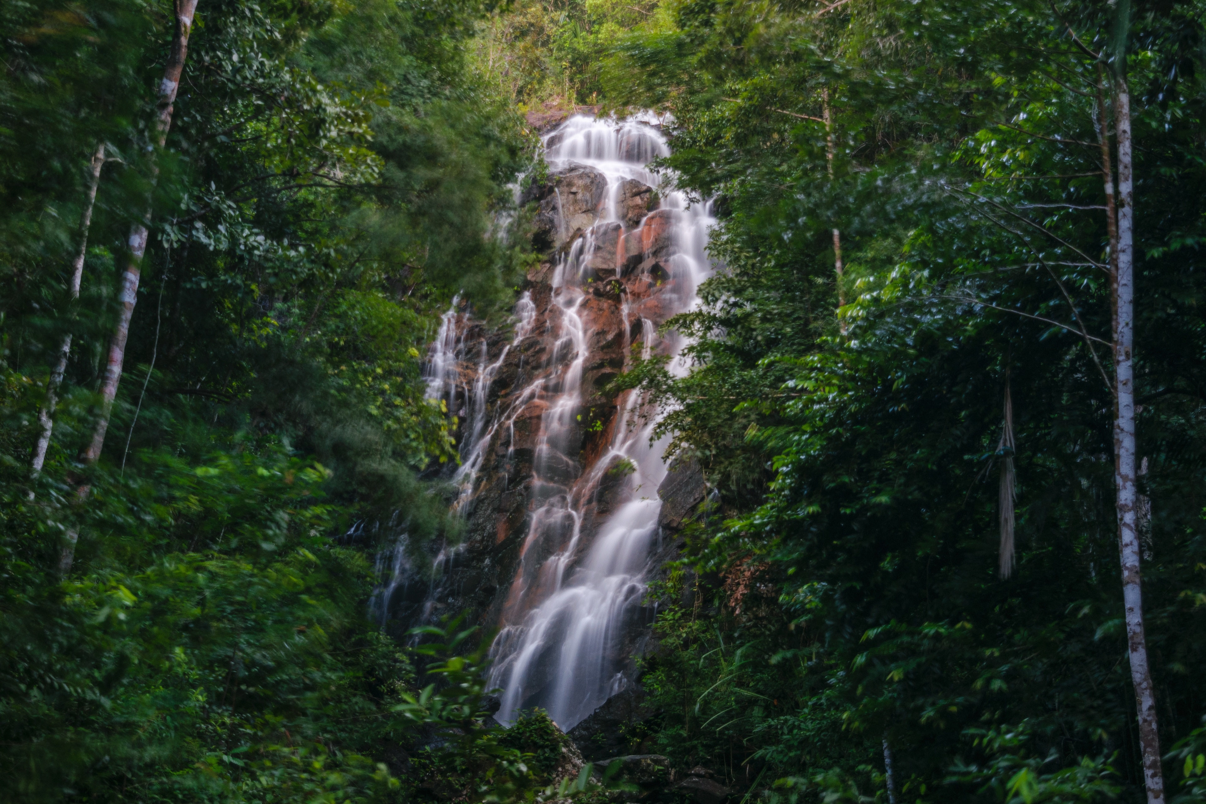 Phaeng-Wasserfall, Koh Phangan, Surat Thani (Provinz), Thailand
