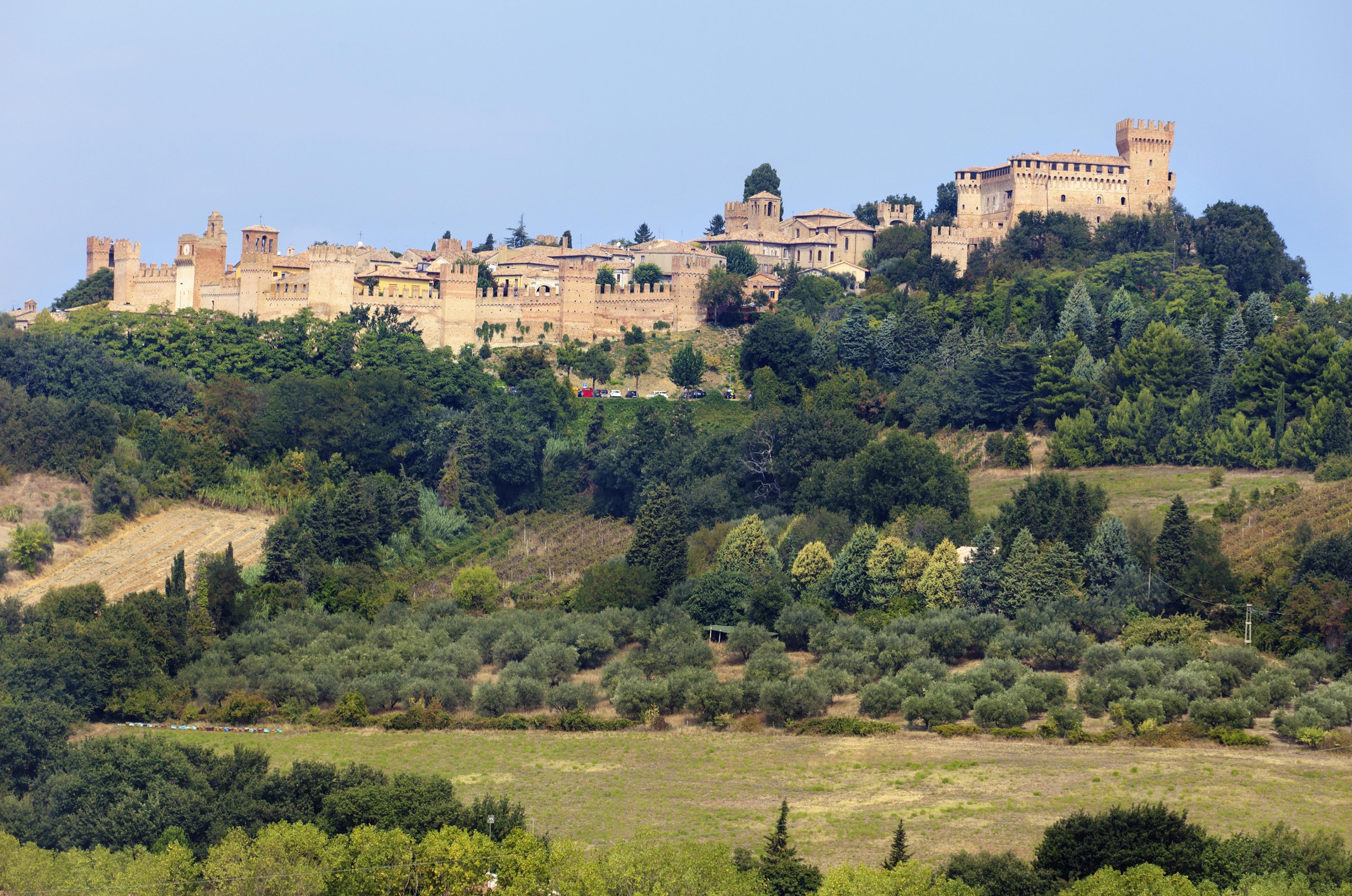 Kasteel van Gradara, Gradara, Marche, Italië