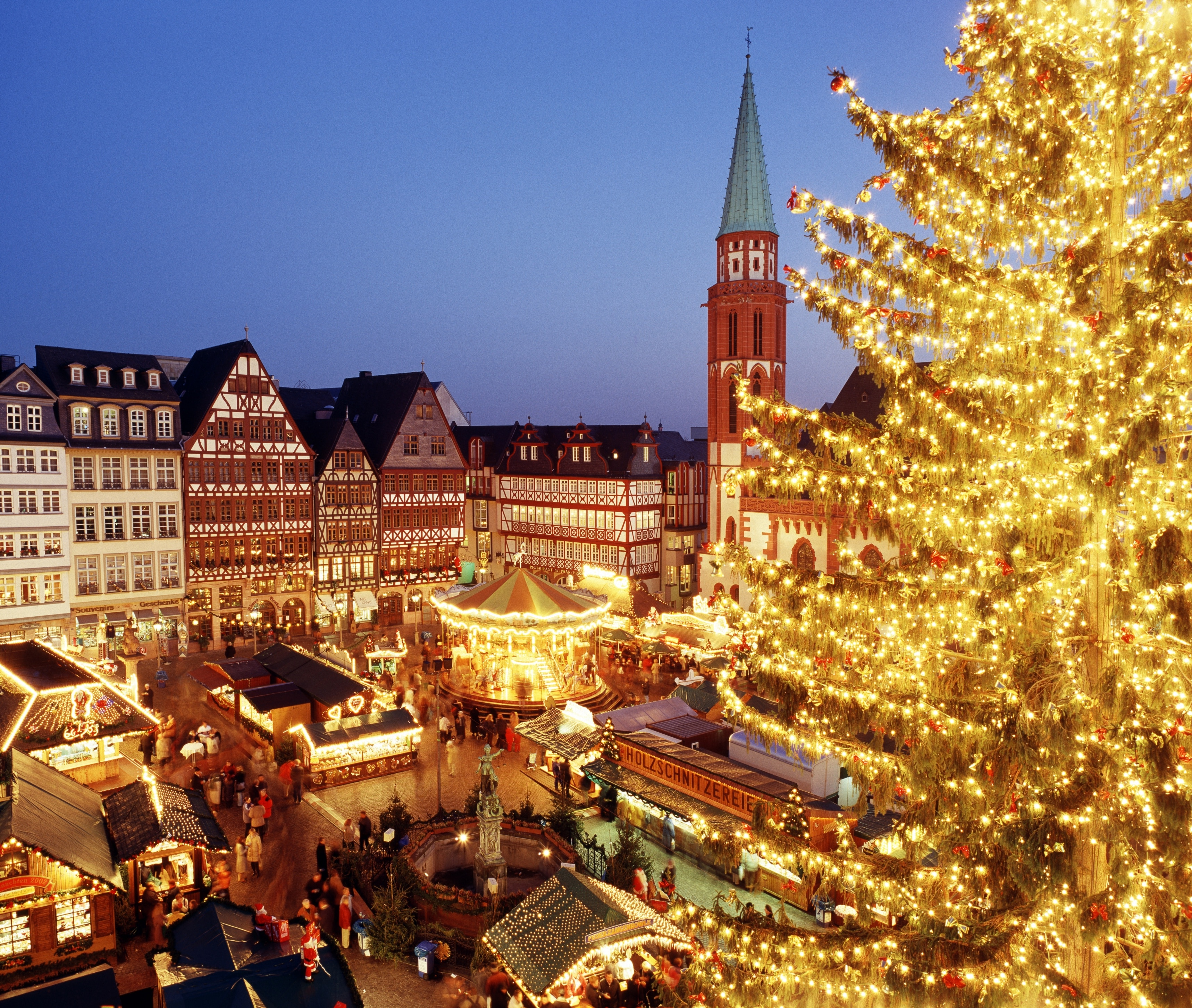 You can find the perfect gifts to bring home at Frankfurt Christmas Market during your stay in Frankfurt. Experience the fascinating museums or attend a sporting event in this vibrant area.