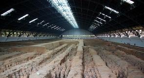 Terakotos skulptūrų armija