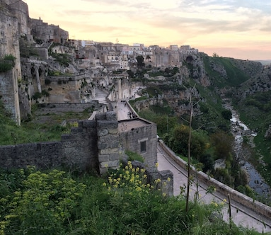 Viewpoint of Matera and the Sassi