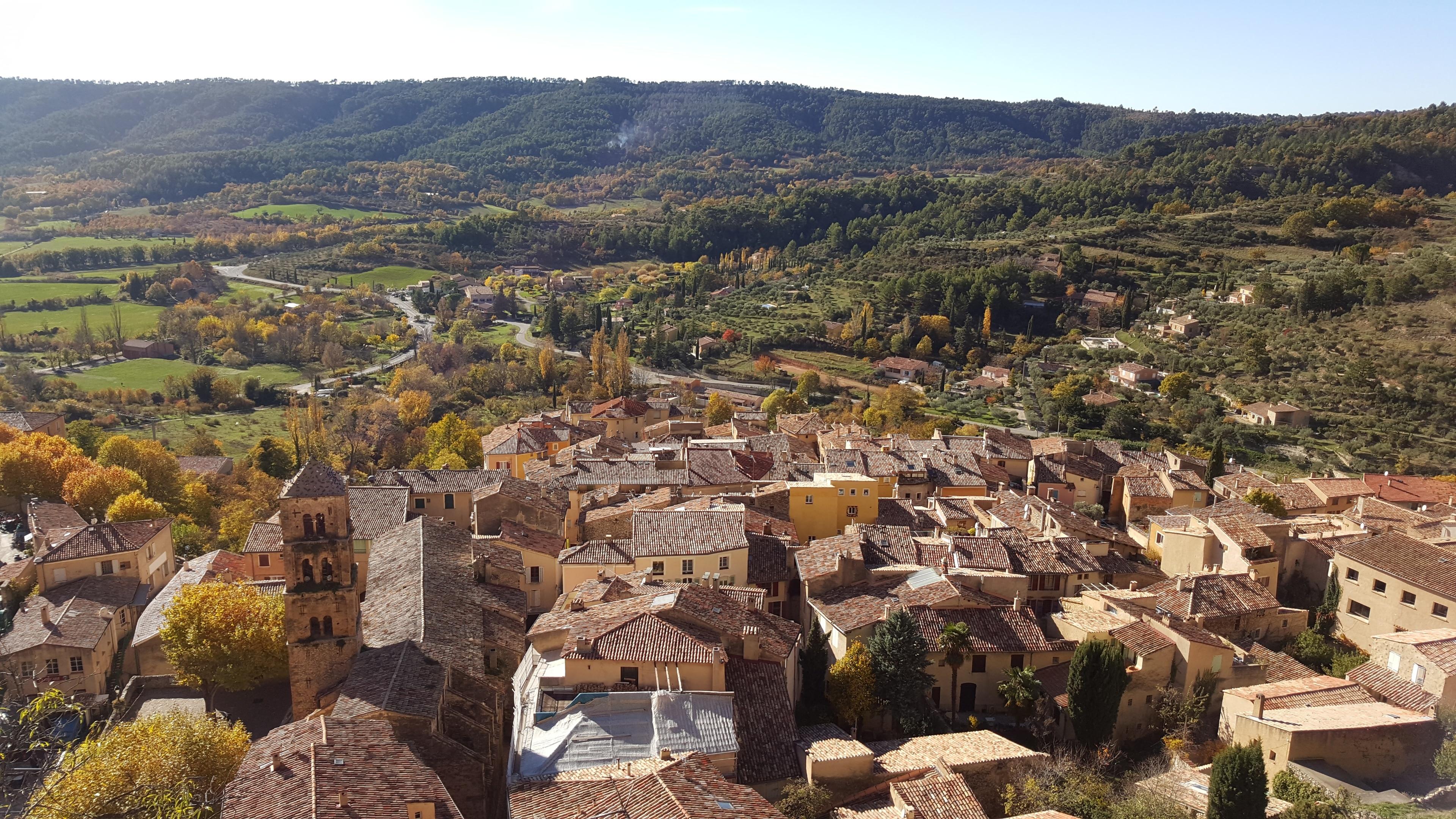 Moustiers-Sainte-Marie, Département Alpes-de-Haute-Provence, Frankreich