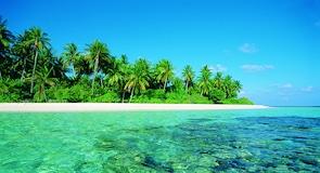 Maafushivaru salos paplūdimys