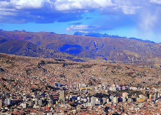 拉巴斯, 玻利维亚