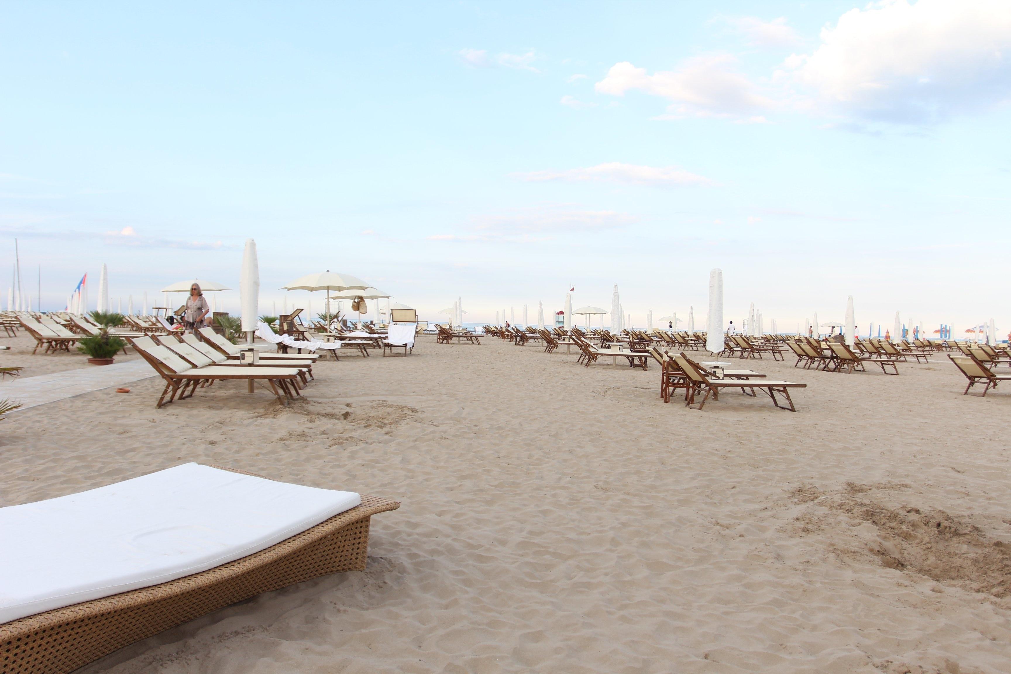 Rimini Beach, Rimini, Emilia-Romagna, Italy