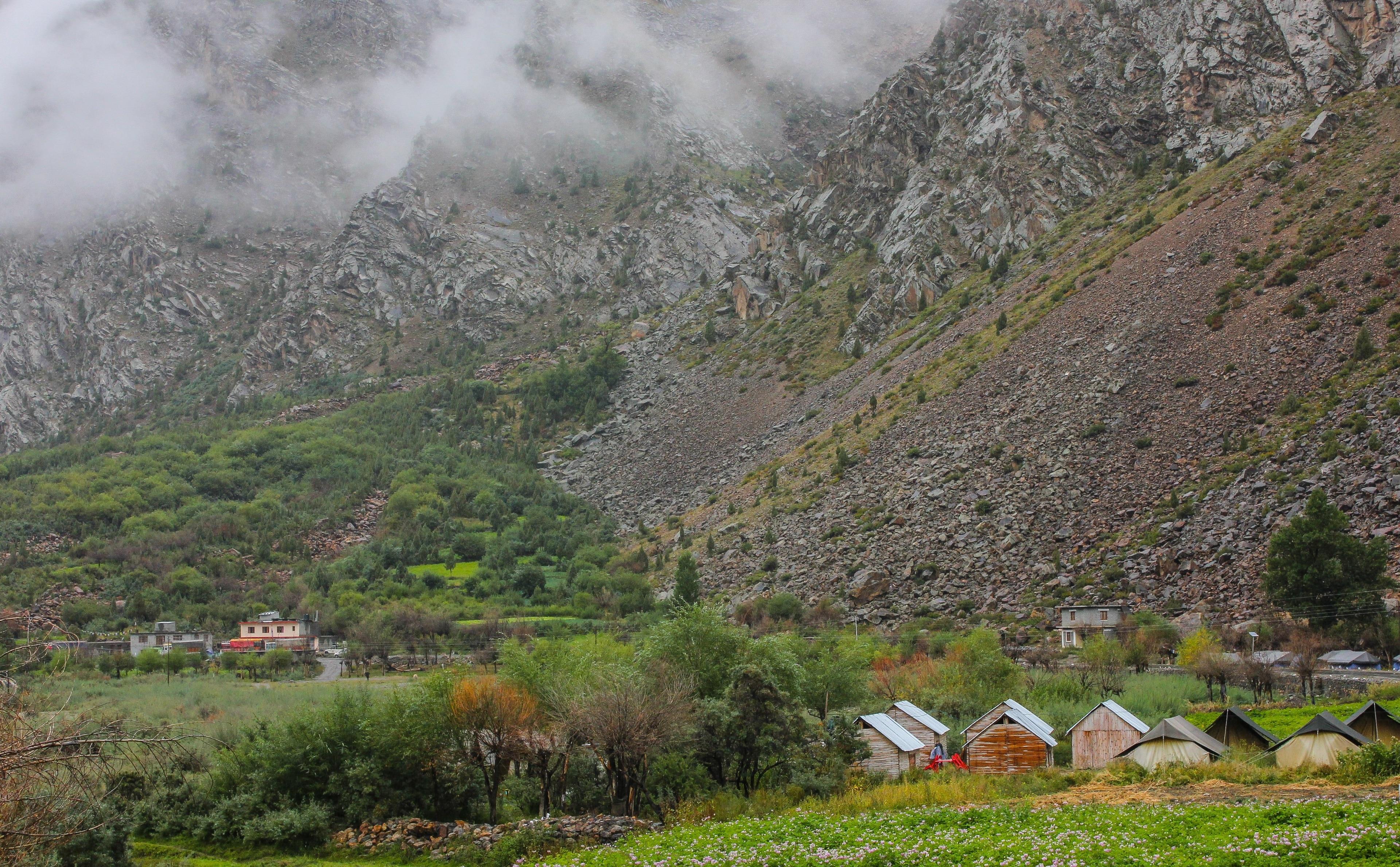 Keylong, Himachal Pradesh, Indien