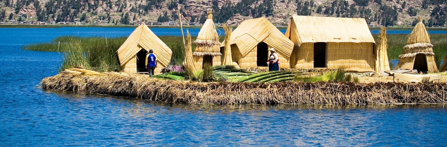 Titicaca-vatn - Puno (og nágrenni), Perú