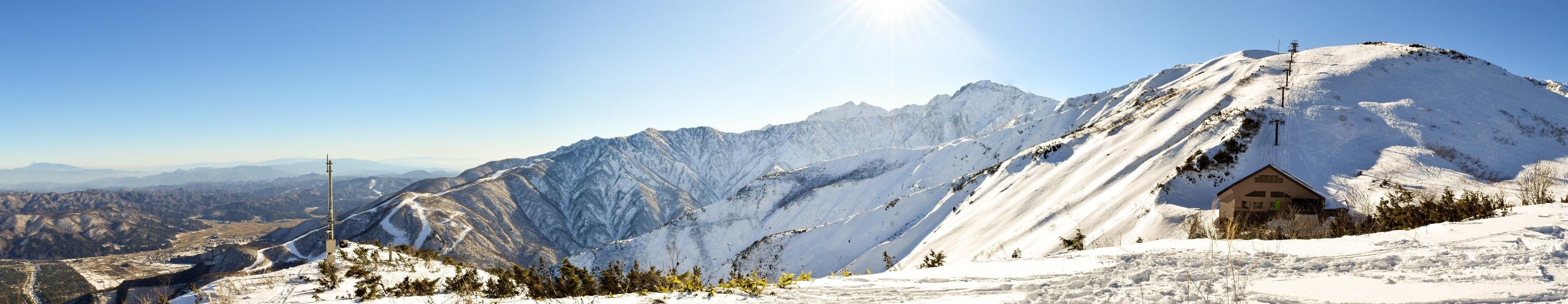 Hakuba Goryu Ski Resort, Hakuba, Nagano (prefecture), Japan