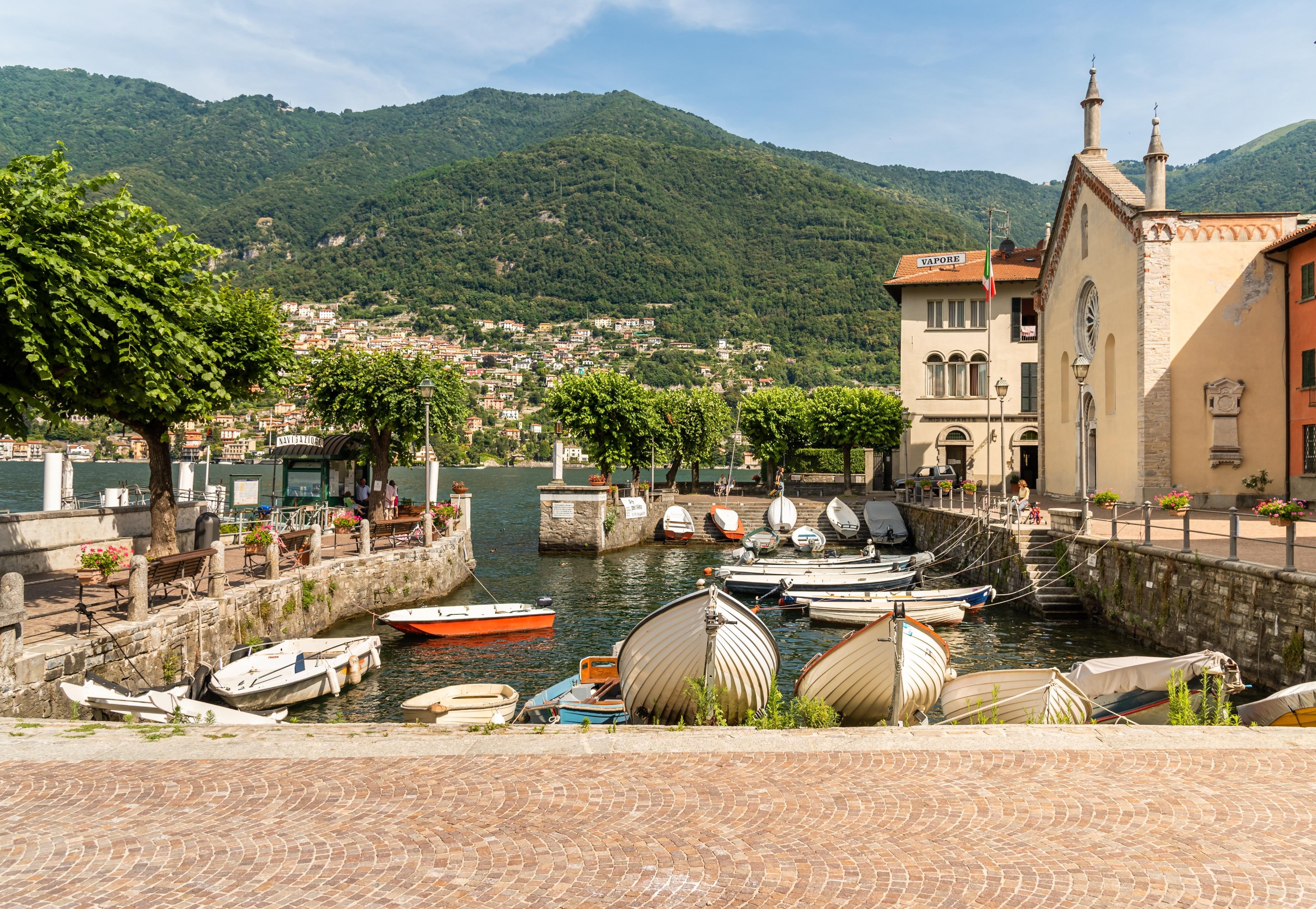 Torno, Lombardiet, Italien