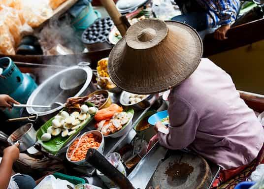 Damnoen Saduak, Tailandia