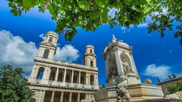 Saint-Sulpice-kirken/