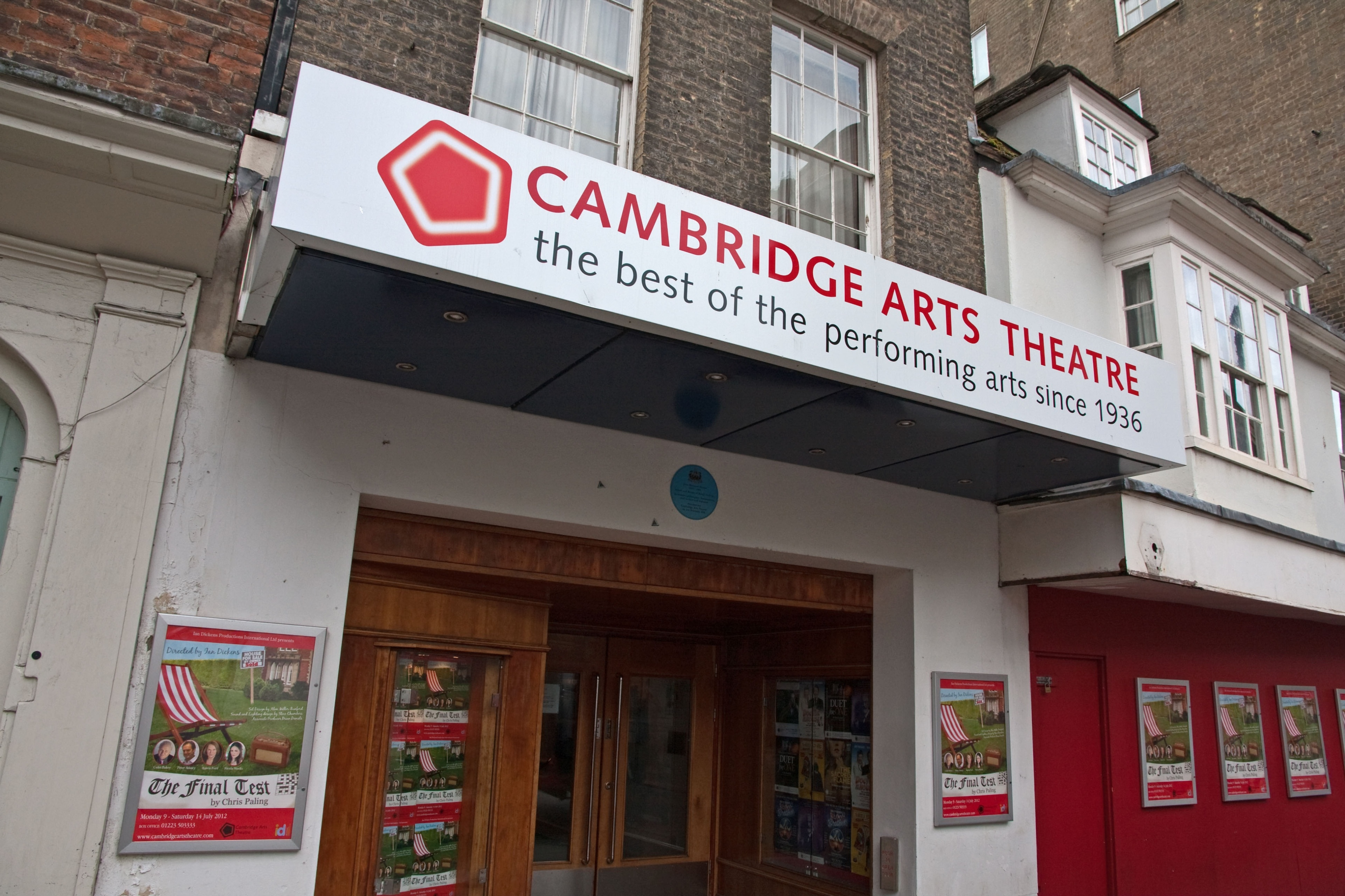 Cambridge Arts Theatre, Cambridge, Angleterre, Royaume-Uni