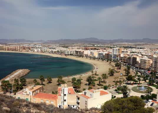 Aguilas, Spanien
