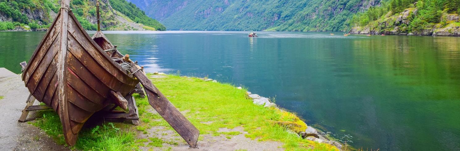 Gudvangen, Norwegia