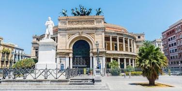 Ruggero Settimo, Palermo, Sicily, Italy