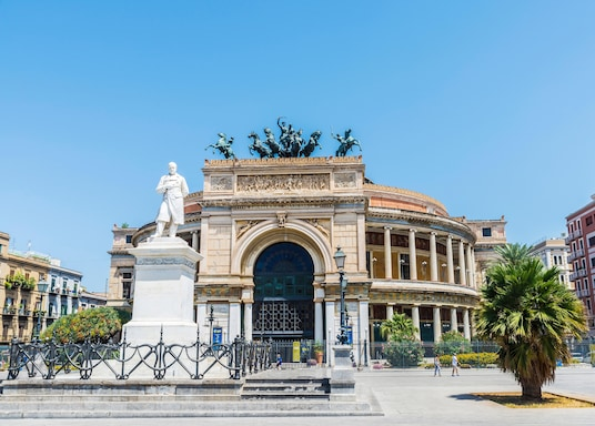 Palermo Historical Center, Italy