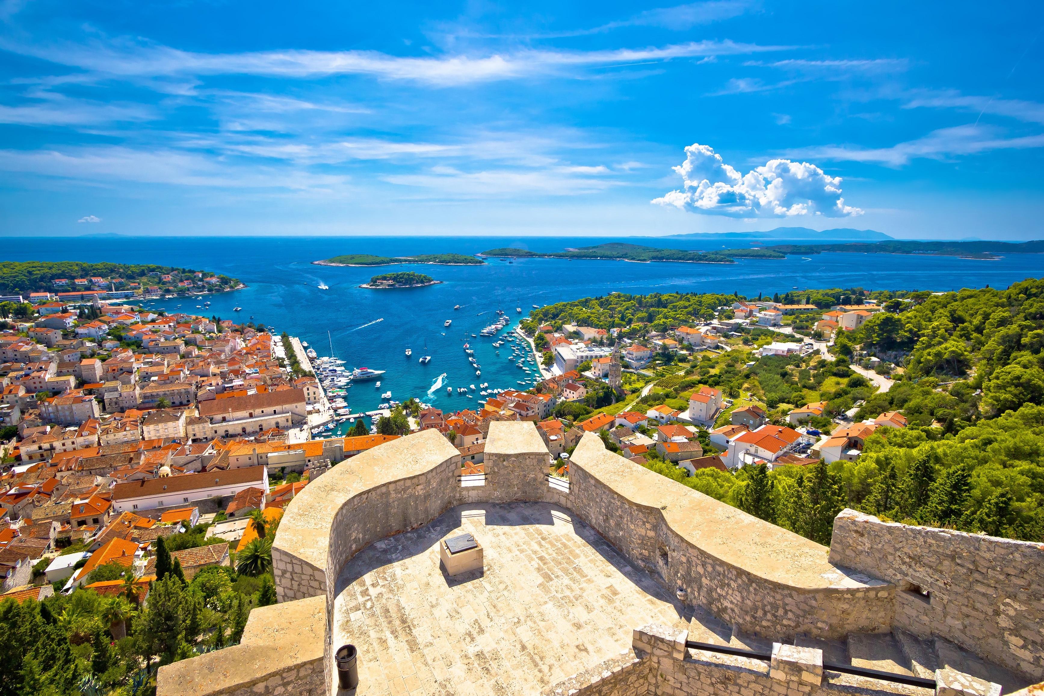 Jelsa, Split-Dalmatia, Croatia