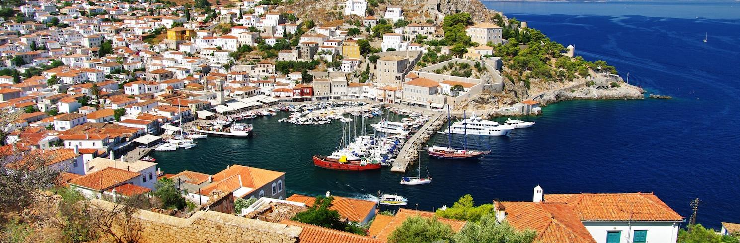 Saronické ostrovy, Grécko